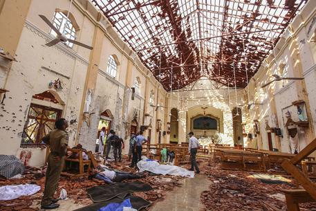 Sri Lanka Church Blasts © AP