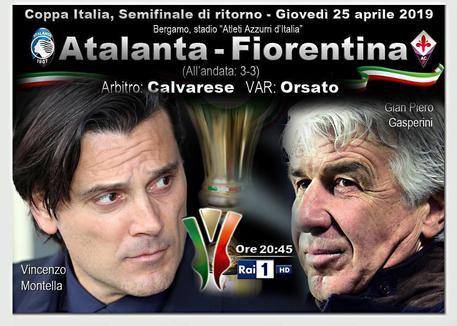 Atalanta-Fiorentina, le probabili formazioni della semifinale di Coppa Italia