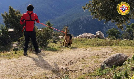 Soccorso alpino, addestramento a Baunei