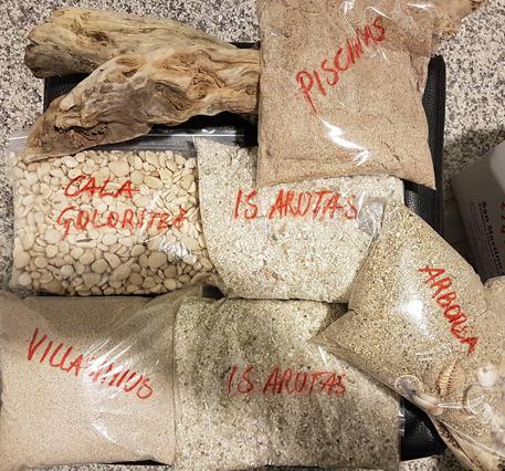 Recuperate 2 tonnellate di sabbia rubata