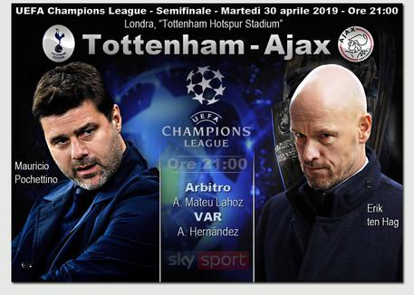 Champions League, Tottenham-Ajax © ANSA
