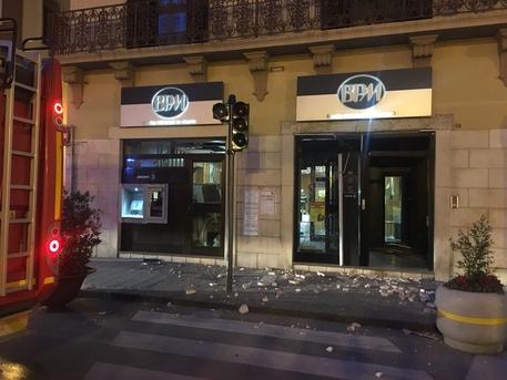 Assalto Con Esplosivo A Bancomat Foggia Puglia Ansait