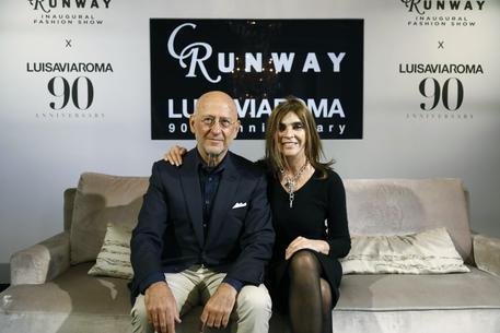c30ef4de0a 90 anni LuisaViaRoma, sfilata a Firenze. Show multibrand il 13/6 con Carine  Roitfeld e Lenny Kravitz