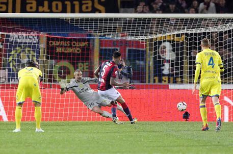 Serie A, tre punti salvezza per il Bologna: vittoria netta sul Chievo