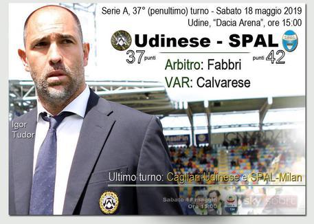 Serie A, Udinese verso la salvezza con il brivido: 3-2 alla SPAL