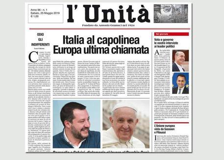 L'Unità, Maurizio Belpietro direttore per un giorno: le polemiche