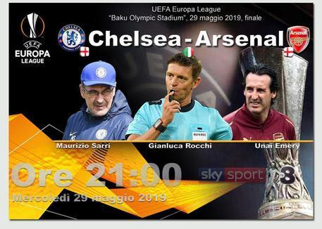 Sarri si aggiudica l'Europa League: il Chelsea batte l'Arsenal 4-1