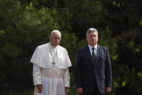 Pope Francis Leaves North Macedonia After Whirlwind Tour