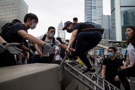 Hong Kong in rivolta