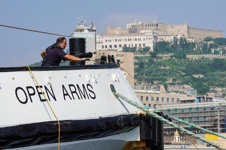 Open Arms ship may enter Italian waters (2) - English - ANSA it