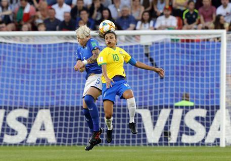 Mondiali donne:Italia ko a ottavi da 1/a