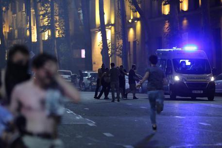 Georgia: presidente, Russia dietro scontri a Tbilisi - Primo Piano