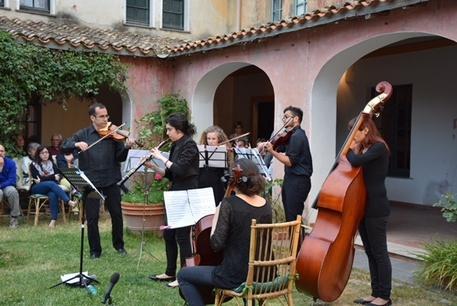 Musica classica nelle cortes di Silius