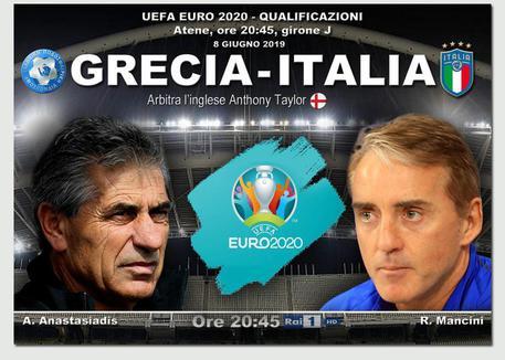 Grecia-Italia 0-3, Barella sblocca il risultato. Poi segnano Insigne e Bonucci
