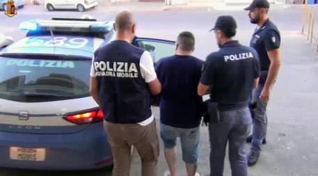 L'arresto di Rosario Greco © ANSA
