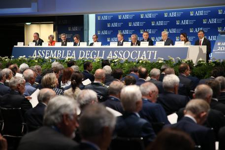 Assemblea Abi celebra cento anni: a Palazzo Mezzanotte anche il Presidente della Repubblica Sergio Mattarella