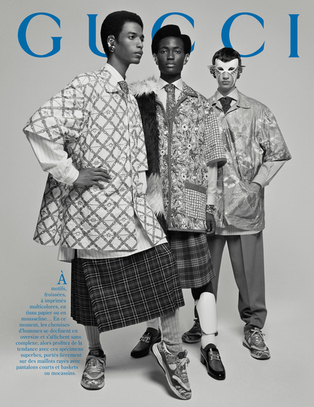 51129f5af063a9 Chiudi Campagna Gucci concept e direzione creativa Alessandro Michele foto  di Glen Luchford (ANSA)