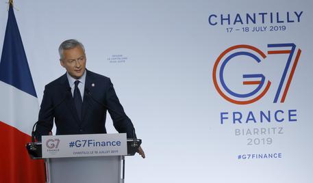G7, accordo su web tax e tassa minima globale