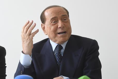 San Siro, in campo Silvio Berlusconi in difesa dello stadio: