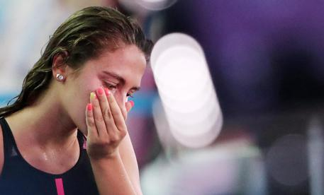 Mondiali Nuoto, Simona Quadarella argento negli 800 sl
