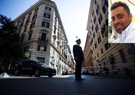 COMBO - Carabiniere Ucciso a Roma © ANSA