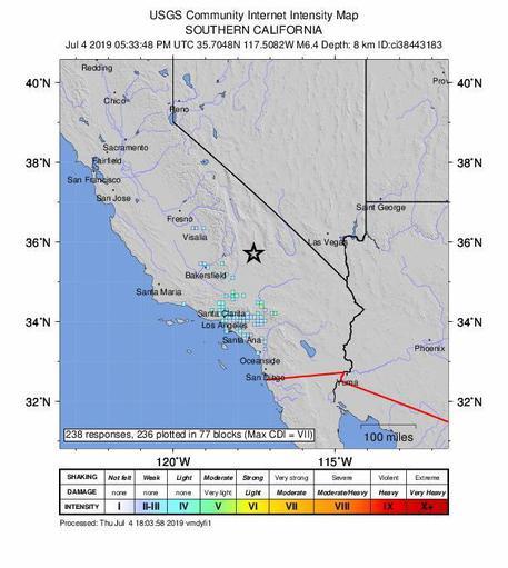 Due scosse di terremoto vicino Menfi, non si registrano danni