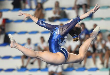 Universiade, Carlotta Ferlito oro nella ginnastica
