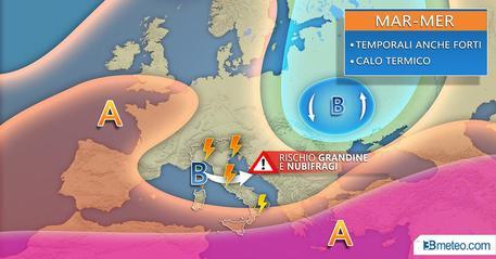 Le previsioni del tempo di 3B meteo