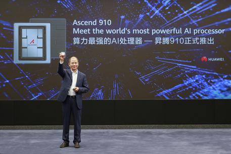 Huawei, ecco processore intelligenza artificiale più potente - Dalla Cina