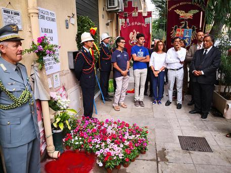 Mafia: cerimonia a Palermo per ricordare Libero Grassi © ANSA