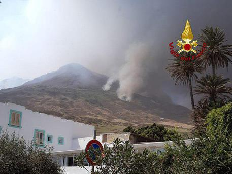 Volcano Spews Gas and Ash Over Italian Island of Stromboli