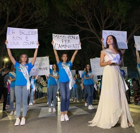 Serena Petralia concorre per Miss Italia