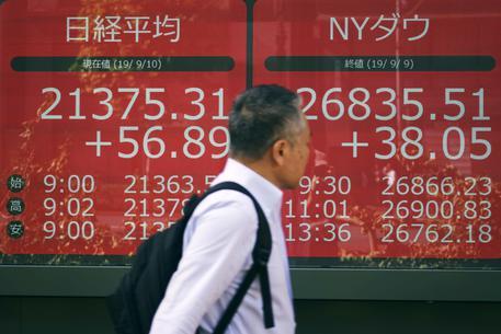 Borsa: Tokyo, apertura in calo ( 0,23%) Ultima Ora ANSA