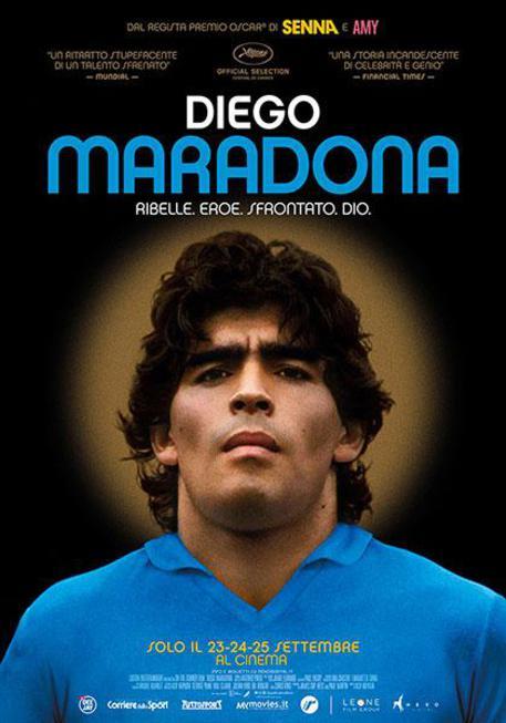 Locandina Diego Maradona © ANSA