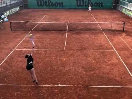 Campionati italiani tennis, big in campo