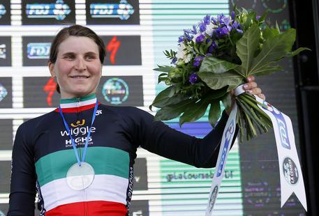Ciclismo, formidabile argento per Elisa Longo Borghini agli Europei