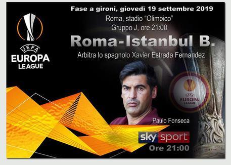 Europa League, Roma-Istanbul Basaksehir: dove vedere la gara