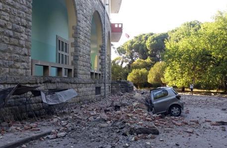 Risultati immagini per albania terremoto