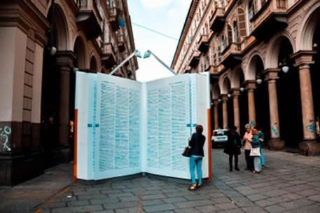ZANICHELLI | #PAROLEDASALVARE IN TOUR | Torino, 29 settembre - 4 ottobre 2019 © ANSA