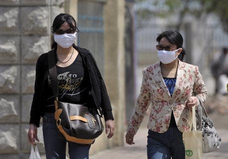 Polmonite in Cina: primo decesso