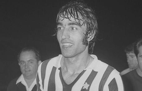 Pietro Anastasi, con la maglia della Juventus, in una immagine del 23 giugno 1971 © ANSA