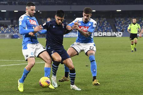 Soccer: Italy Cup quarter finals; Napoli-Lazio © ANSA