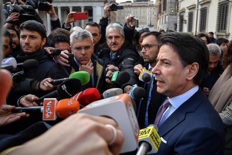 Il premier Giuseppe Conte © ANSA/ALESSANDRO DI MEO