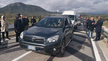 Alluvione Sardegna,riapre ponte crollato
