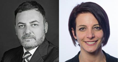 Massimiliano De Toma e Rachele Silvestri © ANSA
