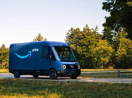 Il furgone elettrico di Amazon