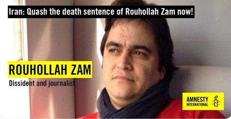 Iran, impiccato l'ex leader dell'opposizione Ruhollah Zam
