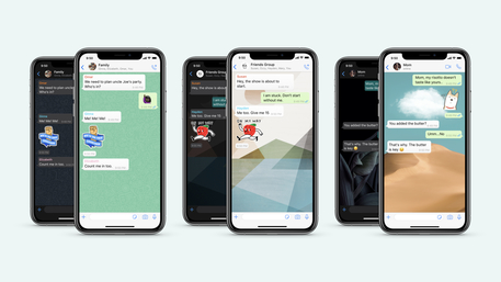 WhatsApp: ecco nuovi sfondi personalizzati insieme a tante altre novità