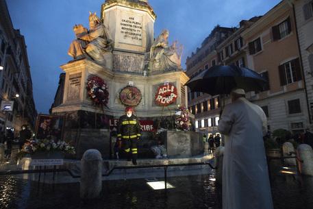 Immacolata, il Papa a piazza di Spagna