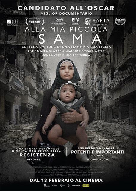 Alla mia piccola Sama, docufilm su rivoluzione siriana regia di Waad al Kateab ed Edward Watts © ANSA